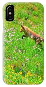 Hunting Fox IPhone Case