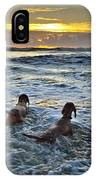 Hunting Sharks IPhone Case