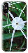 Hurricane Lilly IPhone Case
