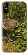 Hutton's Vireo IPhone Case