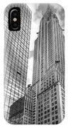 Hyatt And Chrysler IPhone Case