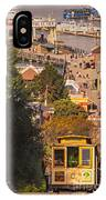 Hyde Street Cable Car IPhone Case