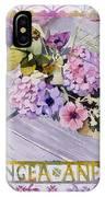 Hydrangea Anemones IPhone Case