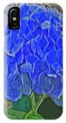 Hydrangea Blues IPhone Case