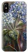 Hydrangea Bouquet At Dawn IPhone Case
