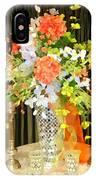 Hydrangea Centerpiece Artistic IPhone Case