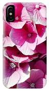 Hydrangea Lavender Petals IPhone Case