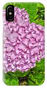 Hydrangea Love IPhone Case