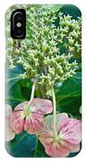 Hydrangea With A New Look IPhone Case