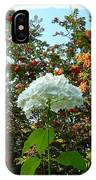 Hydrangea With Mountain Ash IPhone Case