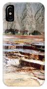 Hymen Terrace Yellowstone National Park IPhone Case