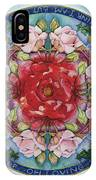 I Am That Mandala IPhone Case