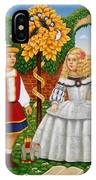 I Had A Little Nut Tree, 1995 Oils And Tempera On Panel IPhone Case