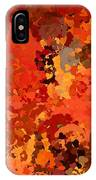 I Love Autumn IPhone Case