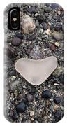 I Love Seaglassing IPhone Case