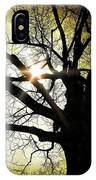 I Think I Shall Never See A Poem As Lovely As A Tree... IPhone Case