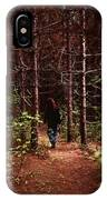 I Walk Alone IPhone Case