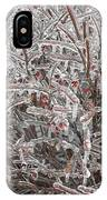 Ice Abstract 1 IPhone Case