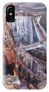 Ice Along The River IPhone Case