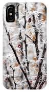 Ice On Thornes IPhone Case