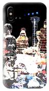 Ice Sculptured Nativity Scene Posterized IPhone Case