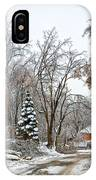 Ice Storm...day 6 IPhone Case