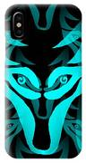 Ice Wolf IPhone Case