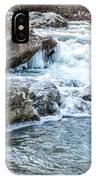 Iced Creek IPhone Case