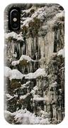 Icicle Rocks IPhone Case