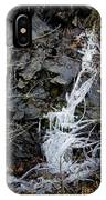 Icicles 2 IPhone Case