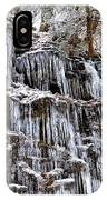 Icicles On Forbidden Drive IPhone Case