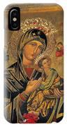 Icon In Marbella Church IPhone Case