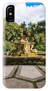 Iconic Fountain IPhone Case