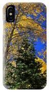 Idaho Autumn Colours IPhone Case
