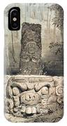 Idol And Altar At Copan IPhone Case
