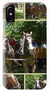 If You Love Belgian Horses IPhone Case