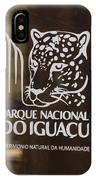 Iguacu National Park - Brazil IPhone Case