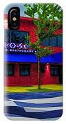 Ikaros Restaurant Baltimore IPhone Case