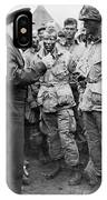 Ike With D-day Paratroopers IPhone Case