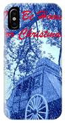 I'll Be Home For Christmas IPhone Case