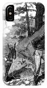 Illegal Prospecting, 1879 IPhone Case
