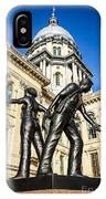 Illinois Police Officers Memorial In Springfield IPhone Case