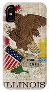 Illinois State Flag IPhone Case