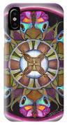 Illusion Of Self Mandala IPhone Case