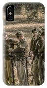 Images Of The Civil War Union Soldiers IPhone Case