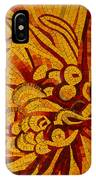 Imagination In Hot Vivid Yellows IPhone Case