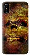 Imhotutt The Living Mummy IPhone Case