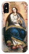Immaculate Virgin Victorious Over The Serpent Of Heresy IPhone Case