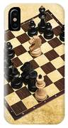 Immortal Chess - Byrne Vs Fischer 1956 IPhone Case