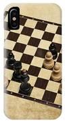 Immortal Chess - Kasparov Vs Topalov 1999 IPhone Case